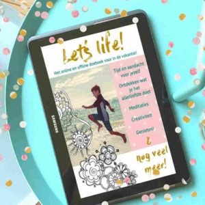 Let's Life doe boek confetti klein