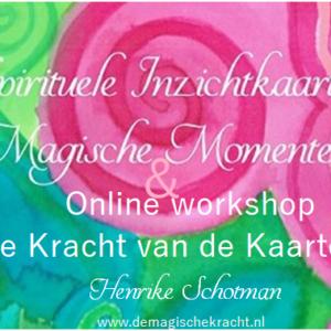 online workshop kracht vd kaarten & spir kaarten